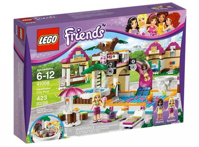 41008 Lego Friends - Городской бассейн