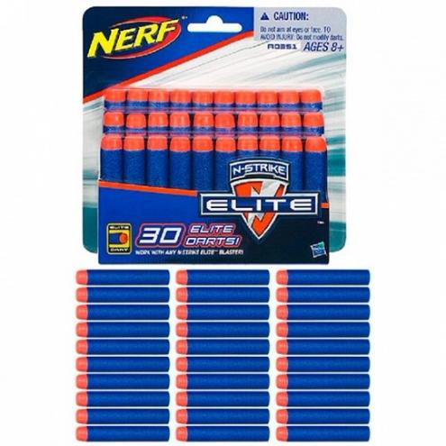 A0351 Nerf Elite - Нерф 30 стрел для бластеров Элит