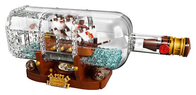 92177 Lego Ideas - 21313 Корабль в бутылке