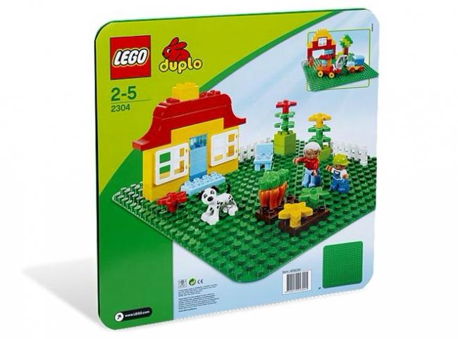 2304 Lego Duplo - Большая строительная пластина