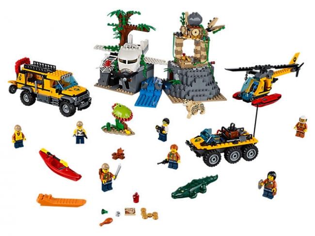 60161 Lego City - База исследователей джунглей