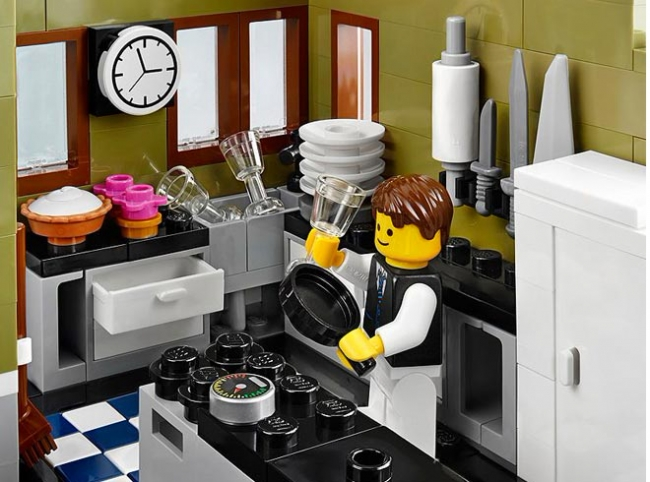 10243 Lego Creator Expert - Парижский ресторан
