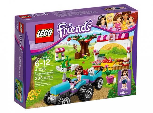 41026 Lego Friends - Сбор Урожая Лего (помята коробка)