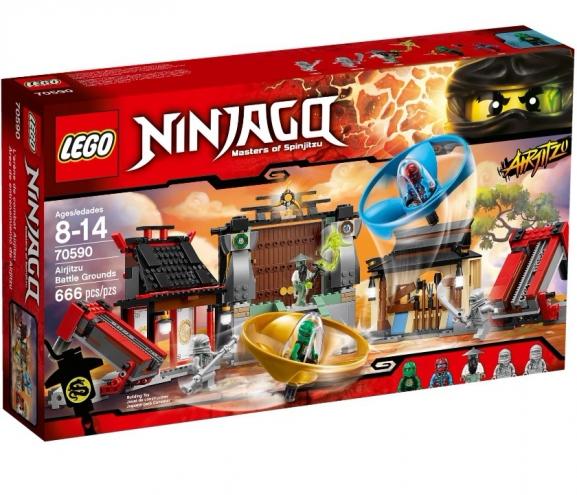 70590 Lego Ninjago - Аэроджитцу: Поле битвы