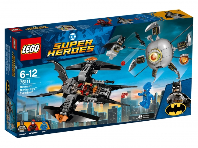 76111 Lego DC Comics Super Heroes - Бэтмен: Ликвидация глаза брата