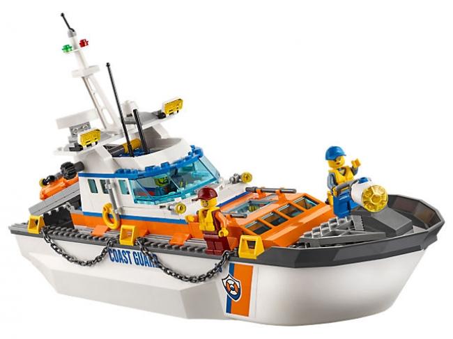 60167 Lego City - Штаб-квартира береговой охраны