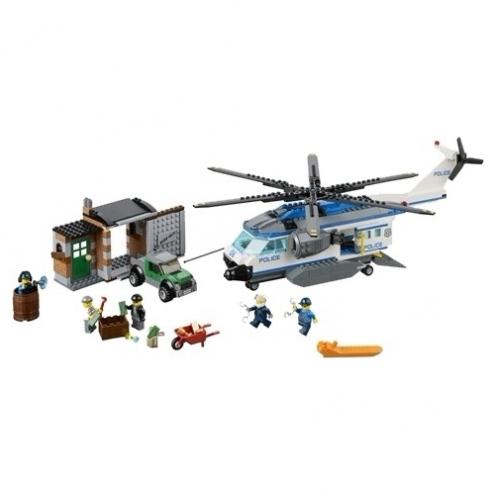 66492 Lego City - Супер набор Полиция 3 в 1