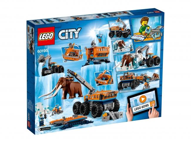 60195 Lego City - Передвижная арктическая база