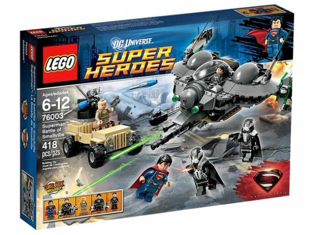76003 Lego DC Comics Super Heroes - Битва Супермена за Смолвиль
