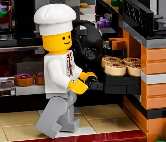 10255 Lego - Городская площадь