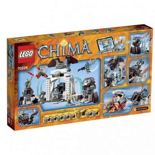 70226 Lego Chima - Ледяная база Мамонтов