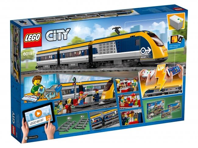 60197 Lego City - Пассажирский поезд