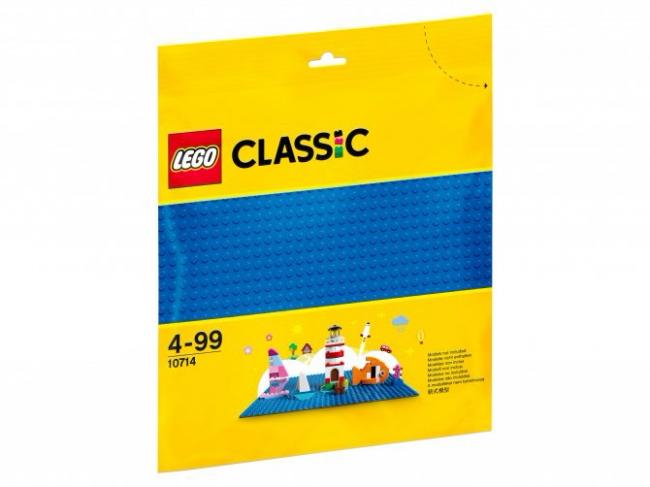 10714 Lego Classic - Синяя базовая пластина