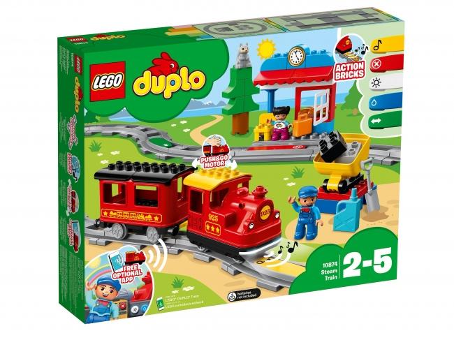 Lego Duplo - Поезд на паровой тяге 10874