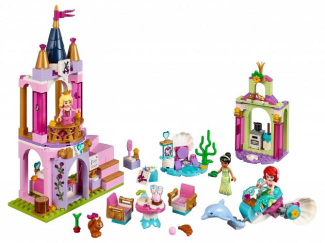 41162 Lego Disney - Королевский праздник Ариэль, Авроры и Тианы