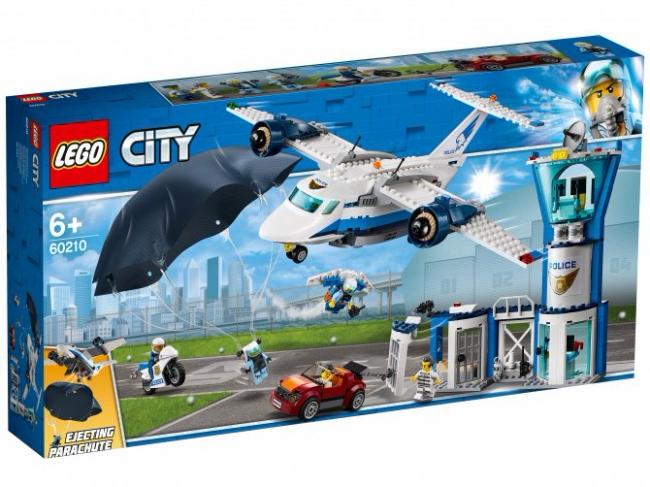 60210 Lego City - Воздушная полиция: авиабаза