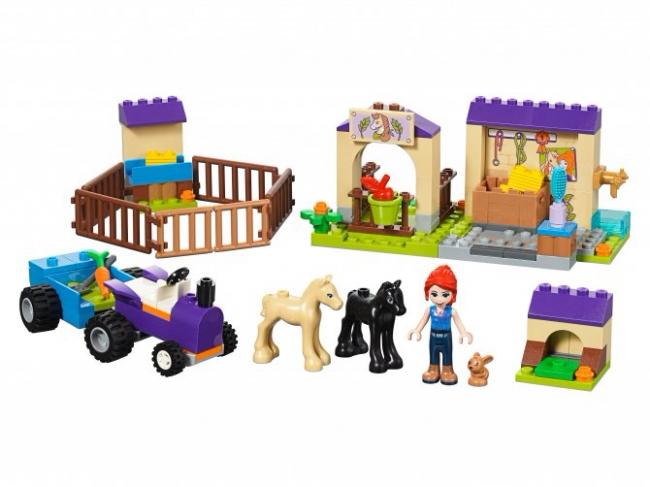 41361 Lego Friends - Конюшня для жеребят Мии