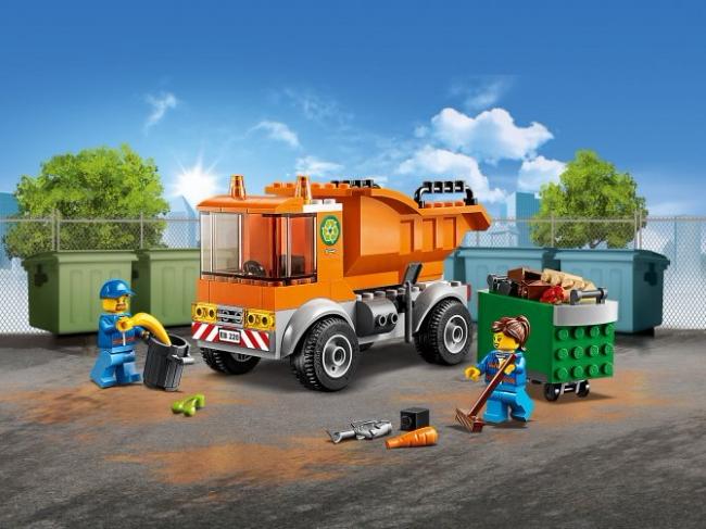 60220 Lego City - Мусоровоз