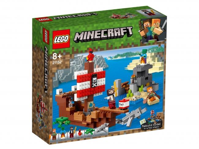 Lego 21152 Приключения на пиратском корабле