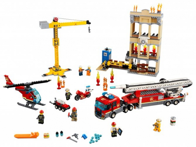60216 Lego City - Центральная пожарная станция