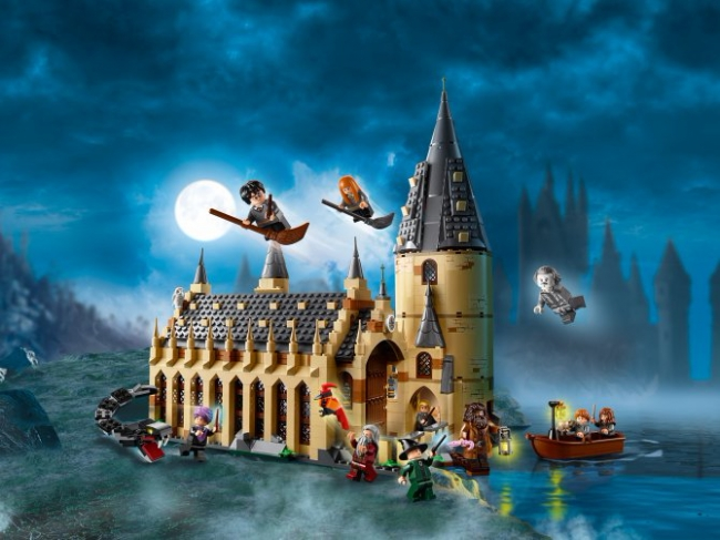 75954 Lego Harry Potter - Большой зал Хогвартса