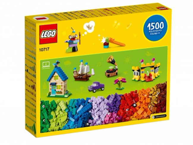 10717 Lego Classic - Кубики, кубики, кубики!