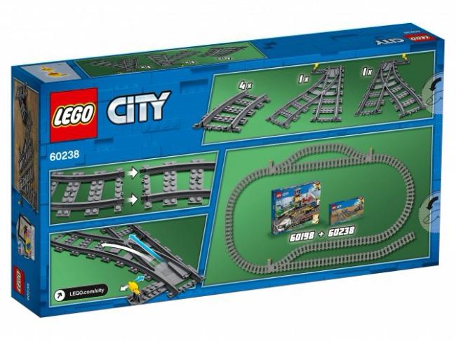 60238 Lego City - Железнодорожные стрелки
