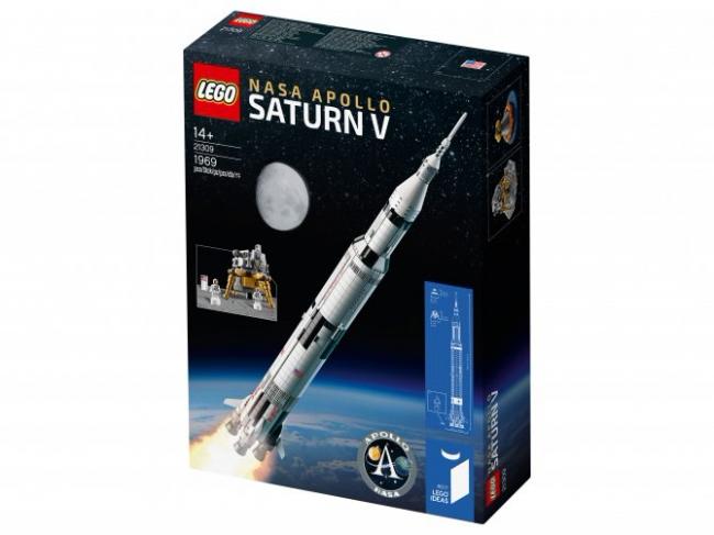 21309 Lego Ideas - Сатурн-5-Аполлон