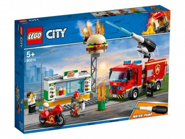 60214 Lego City - Пожар в бургер-кафе