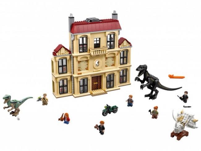 75930 Lego Jurassic World - Нападение индораптора в поместье Локвуд