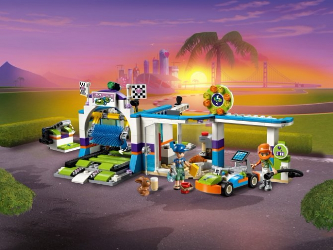 41350 Lego Friends - Автомойка