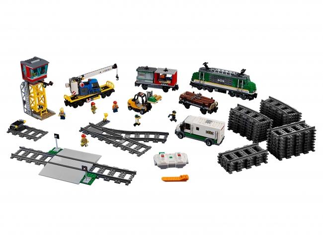 60198 Lego City - Товарный поезд