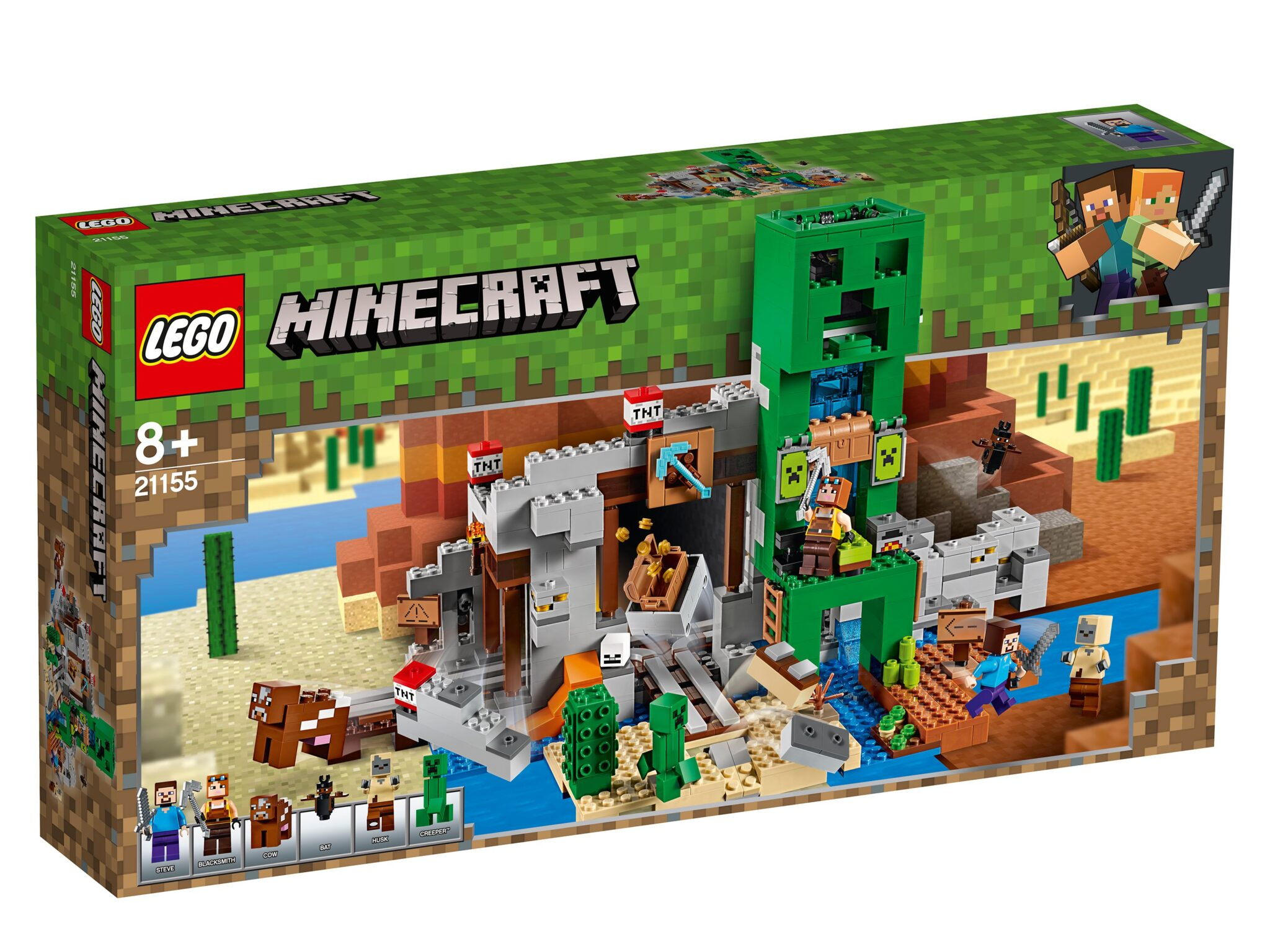 21155 Lego Minecraft - Шахта крипера
