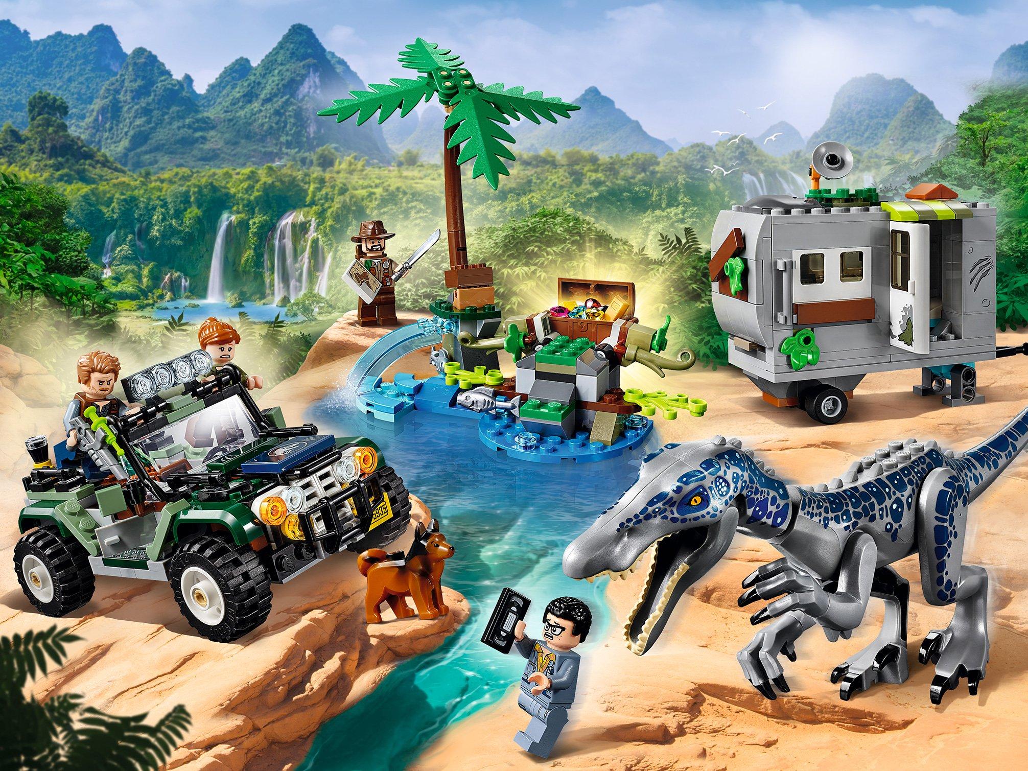75935 Lego Jurassic World - Поединок с бариониксом: охота за сокровищами