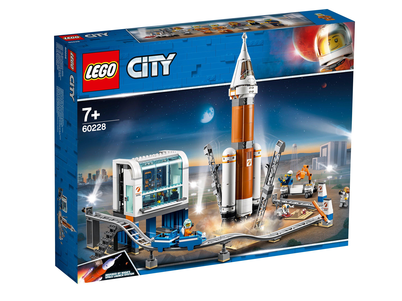 60228 Lego City - Ракета для запуска в далекий космос и пульт управления запуском