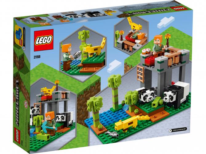 Lego 21158 Питомник панд