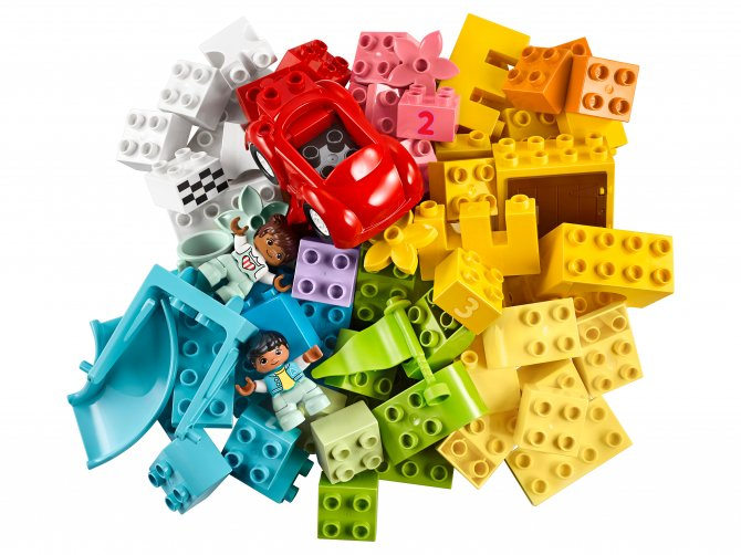 10914 Lego Duplo - Большая коробка с кубиками