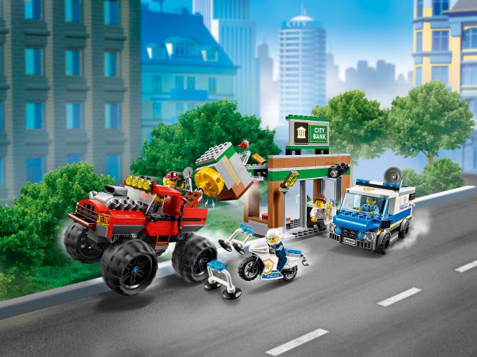 60245 Lego City - Ограбление полицейского монстр-трака