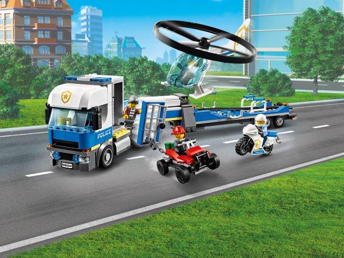 60244 Lego City - Полицейский вертолётный транспорт