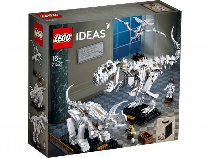 21320 Lego Ideas - Кости динозавра