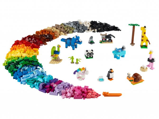 11011 Lego Classic - Кубики и зверюшки