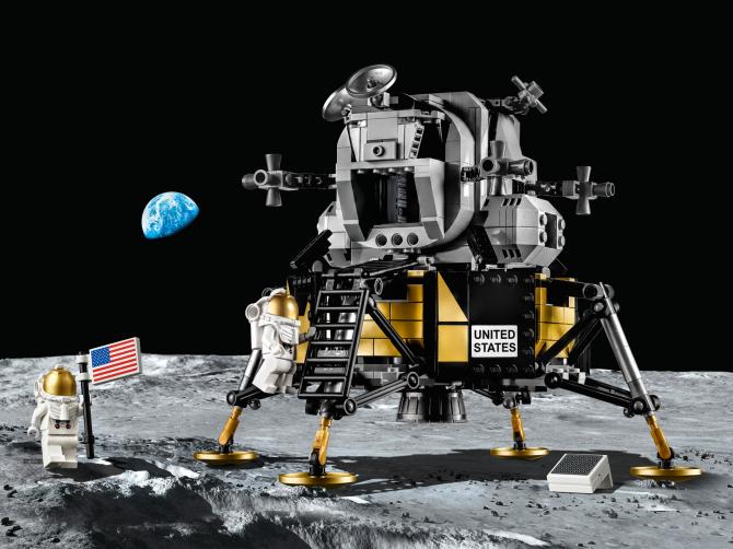 10266 Lego Creator - Лунный модуль корабля «Апполон 11» НАСА