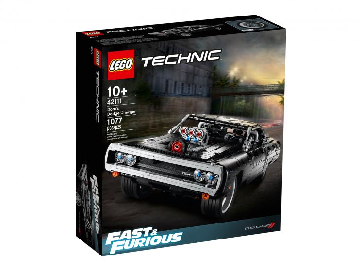 42111 Lego Technic  - Dodge Charger Доминика Торетто