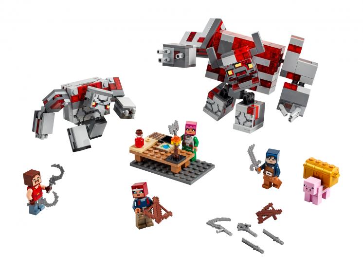 Lego 21163 Битва за красную пыль
