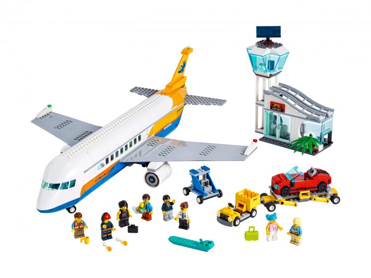 60262 Lego City - Пассажирский самолёт