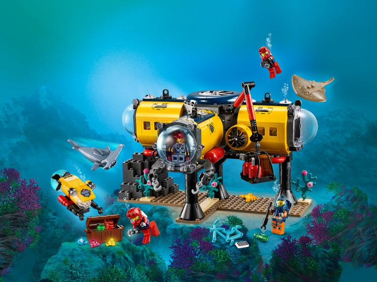 60265 Lego City - Океан: исследовательская база
