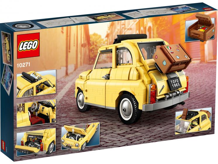 10271 Lego Creator Expert - Fiat 500