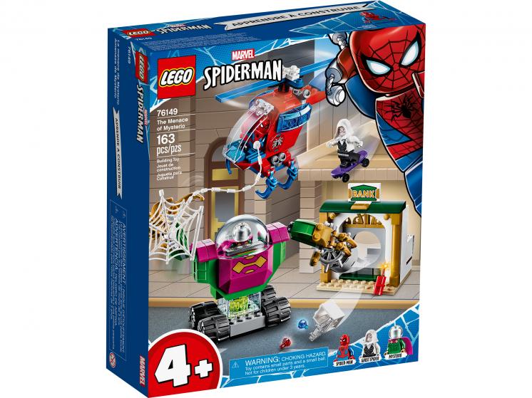 76149 Lego Marvel Super Heroes - Угрозы Мистерио