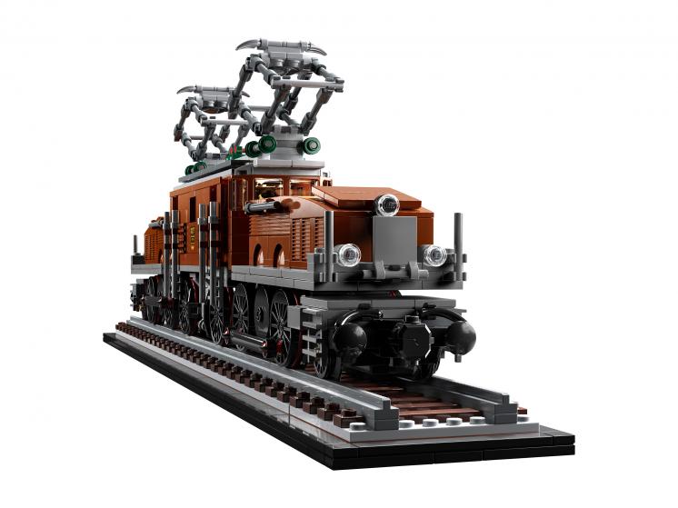 10277 Lego Creator Expert - Локомотив «Крокодил»