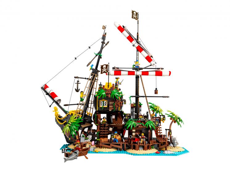 21322 Lego Ideas - Пираты Залива Барракуды